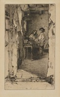 The Rag Gatherers, James Abbott McNeill Whistler, etching