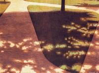 Suburbanscape III, Michael Crouse, lithograph