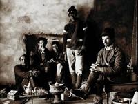 Berber Guides, Keehn Berry Jr., selenium tone photograph