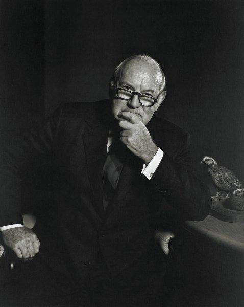 Portrait of John Murdoch Harbert, III, Yousuf Karsh, gelatin silver print