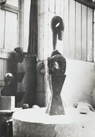 Interior of Brancusi Studio, Constantin Brancusi, gelatin silver print