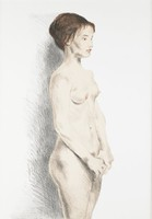 """Previously catalogued as """"Nude Woman"""""""