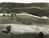 Farm Near Blacksburg, Virginia, Emmet Gowin, gelatin silver print