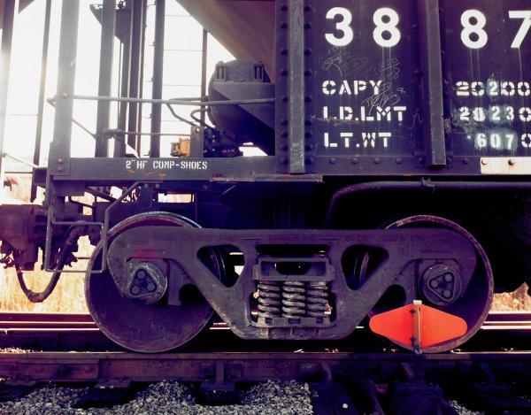 Railroad Car, Birmingham, Alabama, William Christenberry, chromogenic print
