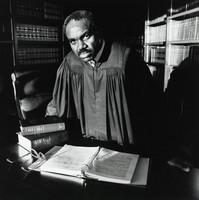 U.S. District Judge U.W. Clemon, Bruce Davidson, silver print