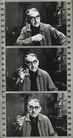 Man Ray in His Studio, Ed Willis Barnett, gelatin silver print