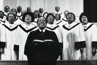 Rev. William M. Norwood With the Choir, Gordon Parks, silver print