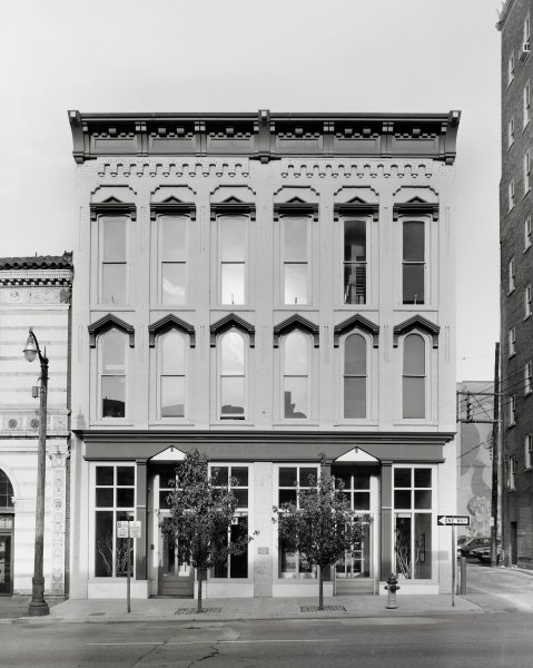 Harris Building, Philip Trager, silver print