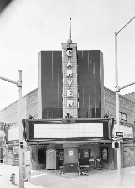 Carver Theater, Philip Trager, silver print