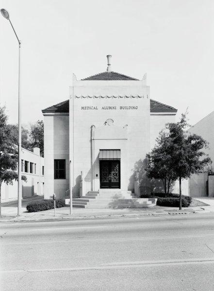 Medical Alumni Building, Philip Trager, silver print