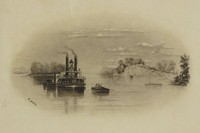 Life on the Mississippi, Xanthus Russell Smith, lithograph