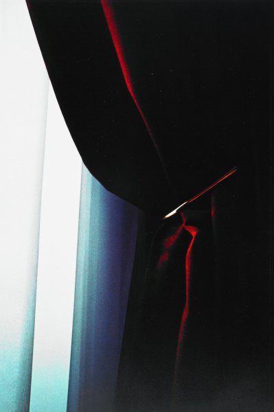 Untitled (Curtain) Paris, 1984, Ralph Gibson, Portfolio published by Double Elephant Editions, Ltd., Type C color print