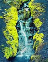 Small Streams In Cinders --Skeljafell, Eliot Porter, dye-transfer print