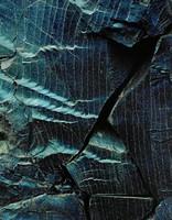 Fractured Obsidian --Landmannalaugar, Eliot Porter, dye-transfer print