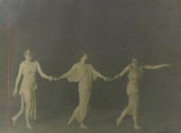 Interpretive Dancers, Arnold Genthe, gelatin silver print