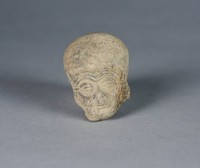 Male Head, Ecuador, Pre-Columbian, earthenware