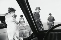 Ferry, Ciudad Carmen - April 5, 1979, Charles Harbutt, gelatin silver print