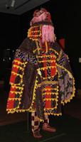 Costume for Egungun Masquerade, Yoruba people, Ijebu region, Ode village, Nigeria, African, textiles