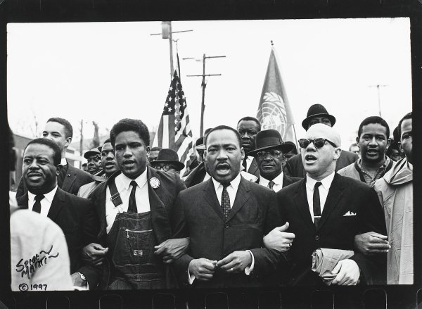 One of five views of Montgomery, Alabama, during the Civil Rights era between 1964 and 1968