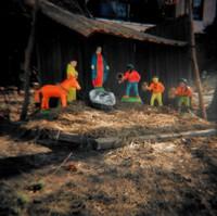 Nativity Scene, Amy Blakemore, color coupler print
