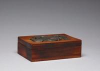 Box, William Spratling, rosewood, silver