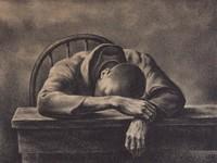 Lunch Hour, Joseph Hirsch, lithograph
