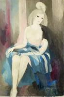 Jeune danseuse (Young Dancer), Marie Laurencin, oil on canvas