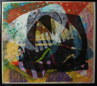 Untitled, from the Bad River Series, Sam Gilliam, mixed media