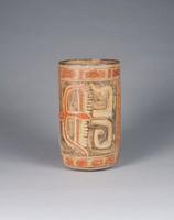 Vessel, Maya culture, Pre-Columbian, fired clay and slip