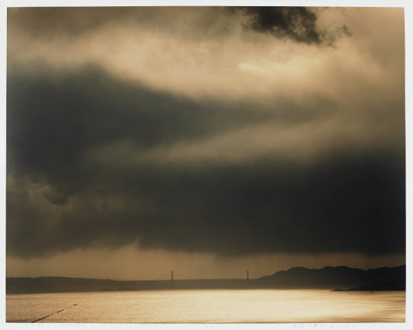Golden Gate Bridge, 4.3.99, 3:55 pm, 1999, Richard Misrach, chromogenic color print