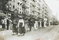 U.N.I.A. Women—On Parade, New York City, James Van Der Zee, gelatin silver print