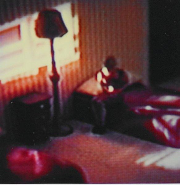 "Untitled, from the series ""Modern Romance"", David Levinthal, Polaroid SX-70 print"