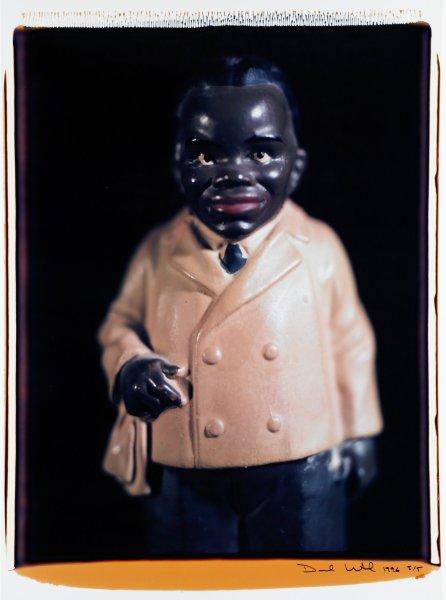 "Untitled, from the series ""Blackface"", David Levinthal, Polaroid print"