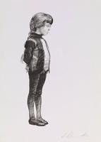 Daughter's Portrait, Harvey Dinnerstein, lithograph