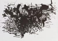 Horse and Rider, Robert Goodnough, lithograph