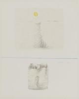 Sun, Costantino Nivola, lithograph on Arches paper