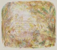 Musical Landscape, Jane Wilson, lithograph on BFK paper