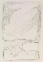 Cloudscape, Jane Wilson, lithograph
