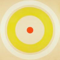 Spring Light, Kenneth Noland, acrylic on canvas