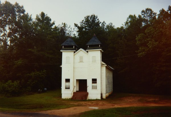 Church, Sprott, Alabama, 1979, William Christenberry, chromogenic print