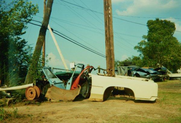 Parts, near Tuscaloosa, Alabama, 1990, William Christenberry, chromogenic print