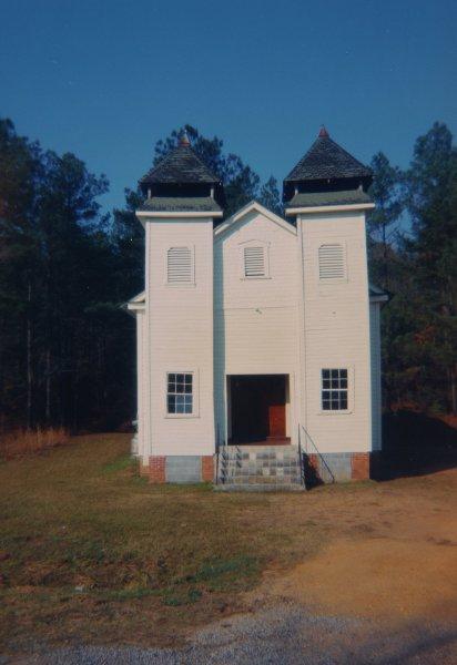 Church, Sprott, Alabama, 1971, William Christenberry, chromogenic print