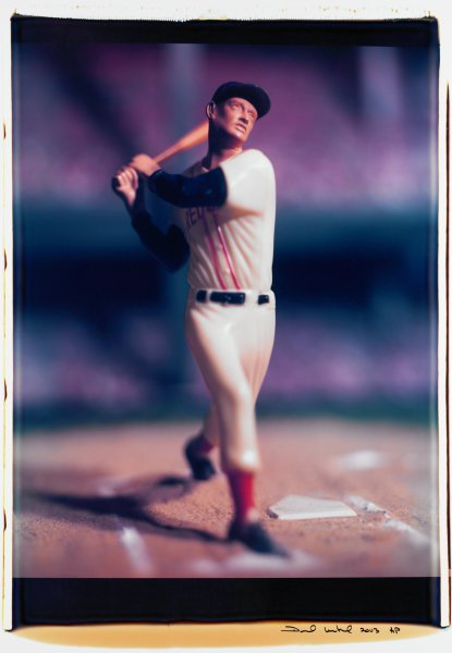 "Untitled, from the series ""Baseball"" [Ted Williams], David Levinthal, Polaroid (Polacolor ER Land Film print)"