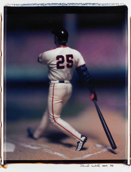 "Untitled, from the series ""Baseball"" [Barry Bonds], David Levinthal, Polaroid (Polacolor ER Land Film print)"