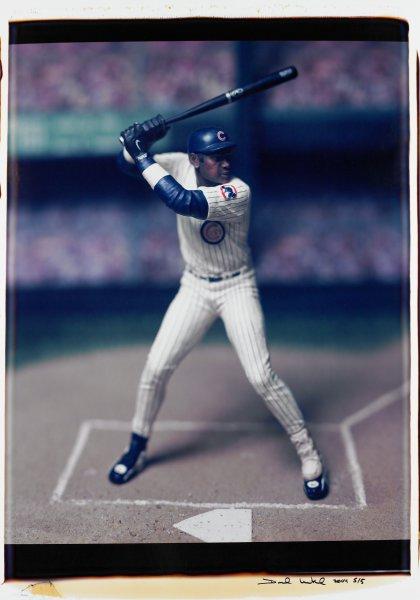 "Untitled, from the series ""Baseball"" [Sammy Sosa], David Levinthal, Polaroid (Polacolor ER Land Film print)"