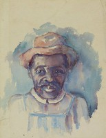 Study of a African-American farm worker