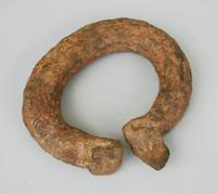 Bracelet, African, iron