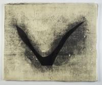 Flying, Joowon Lee, acrylic on Hanji paper