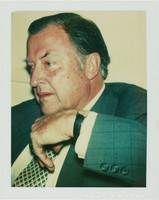Charles Ireland, Andy Warhol, Polacolor Type 108 Polaroid