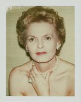 Caroline Ireland, Andy Warhol, Polacolor Type 108 Polaroid